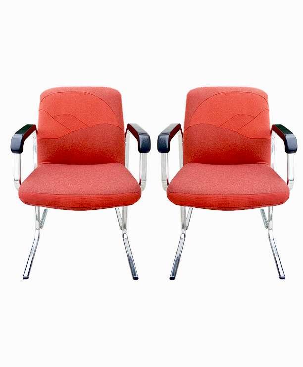 unikvinatge64-fauteuil vintage rouge