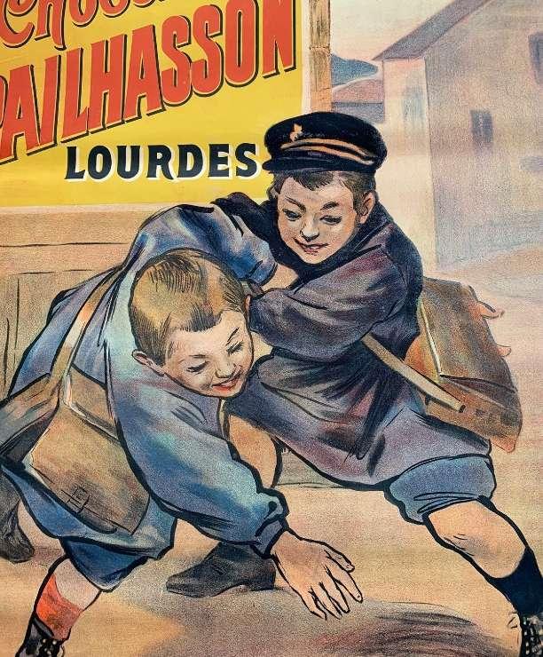 unikvintage64-affiche publicitaire