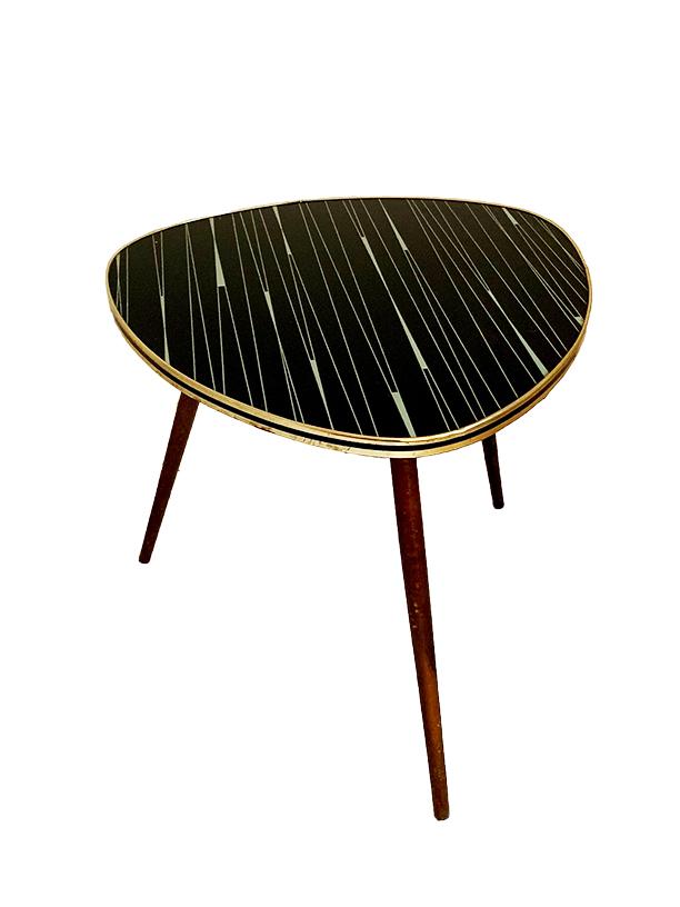 unikvintage64-table basse noire