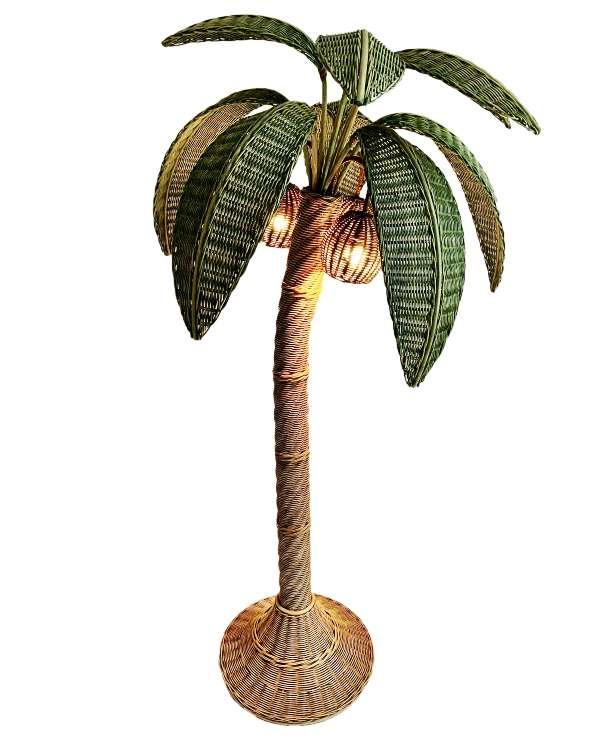 unikvintage64-lampadaire palmier
