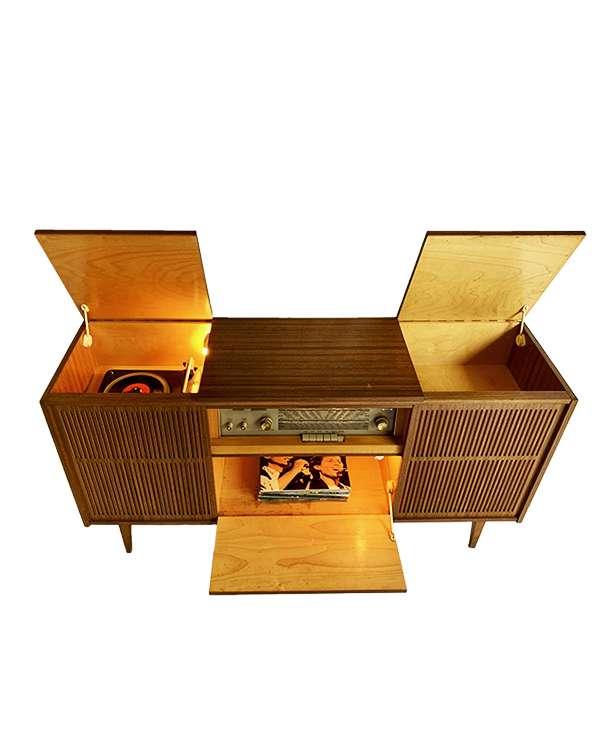 unikvintage64-meuble radio