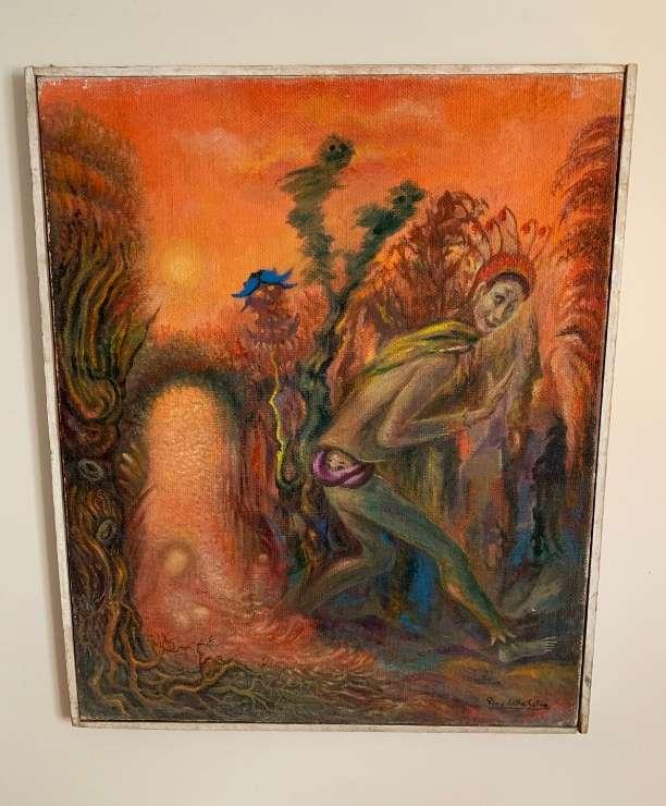 unikvintage64-tableau pino della selva