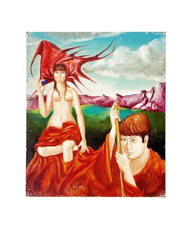 unikvintag64-tableau deluge-viot