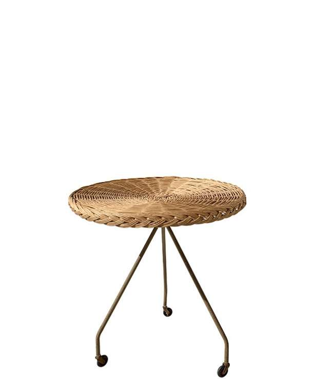 unikvintage64-table appoint rotin