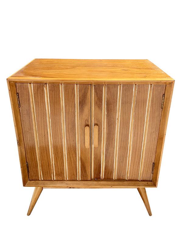 unikvintage64-meuble range vinyles