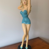 unikvintage64-statue pin-up beau rivage